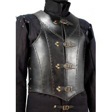 Plastron armure en cuir