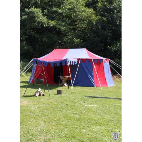 Tente de chevalier bourguignon 3x5 mètres