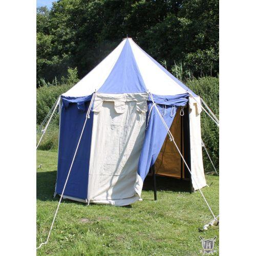Tente médiévale ronde Johan, 3 m de diamètre