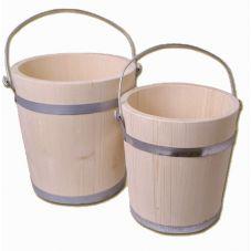 Seau en bois 5 litres