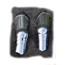 Protéction des jambes haut moyen-âge acier 1.2mm