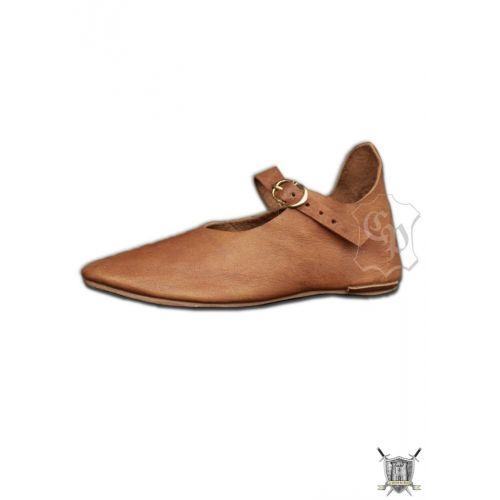 Chaussure médiévale pour femme