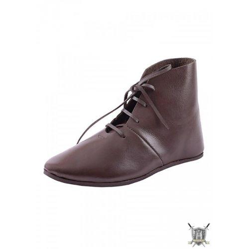Chaussure médiévale en cuir
