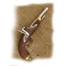 pistolet français à percussion 1822