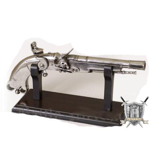 Support pistolet en bois 25x11 cm