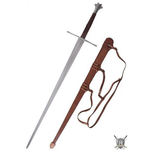 Grande épée 15ème siècle et fourreau