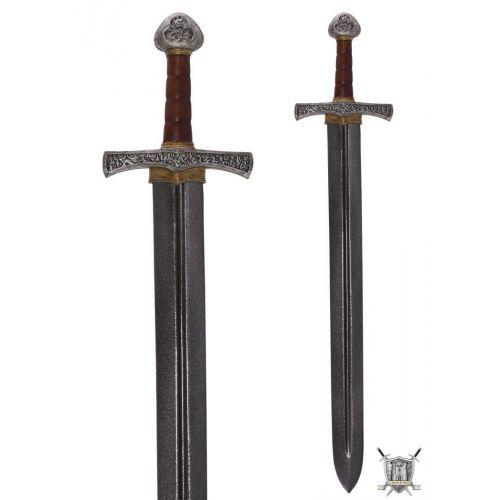 Epée médiévale de croisé en latex