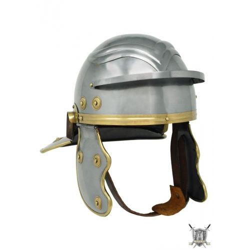 Casque romain junior Galea pour enfant en acier