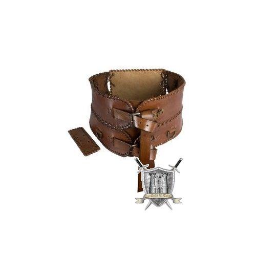 ceinture large cuir