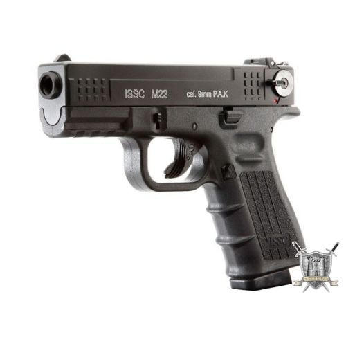 Pistolet Glock 9mm d'alarme + 17 munitions