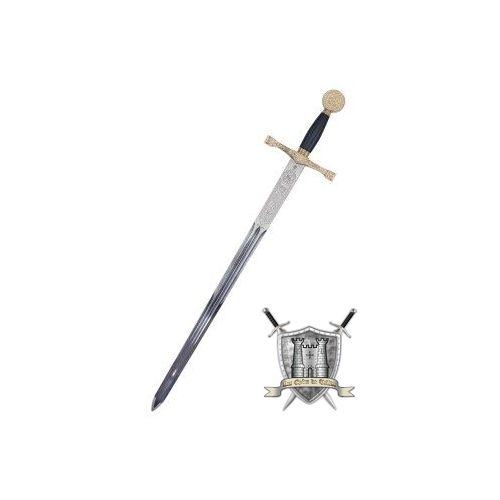 Excalibur dorée lame en acier inoxydable