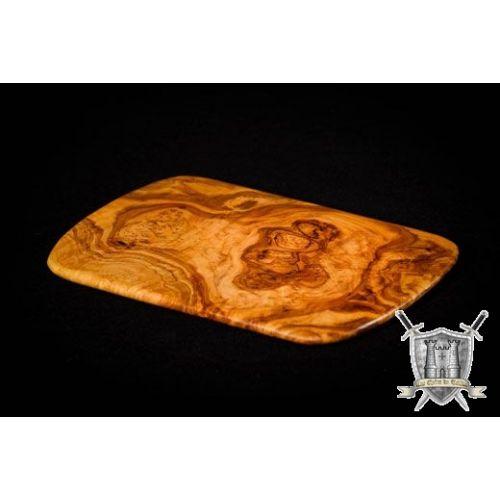 Planche à fromage ou pour découper la viande en bois d'olivier