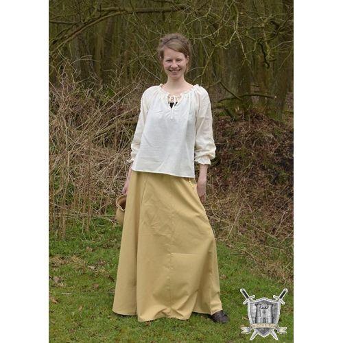 Jupe médiévale longue ample 100% coton