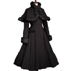 Manteau bourgeoise 19ème siècle