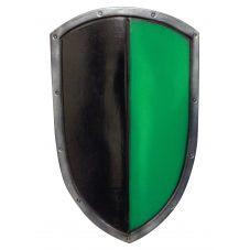 Bouclier bi-colore en latex combat GN