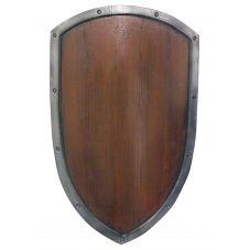 Bouclier réplique bois en latex
