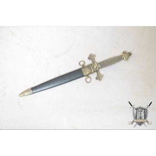 Dague franc-maçon avec fourreau
