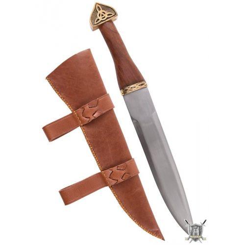 Dague seax viking et fourreau