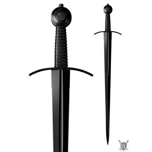 Epée de combat homme d'arme médiéval
