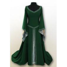 Robe médiévale polyester