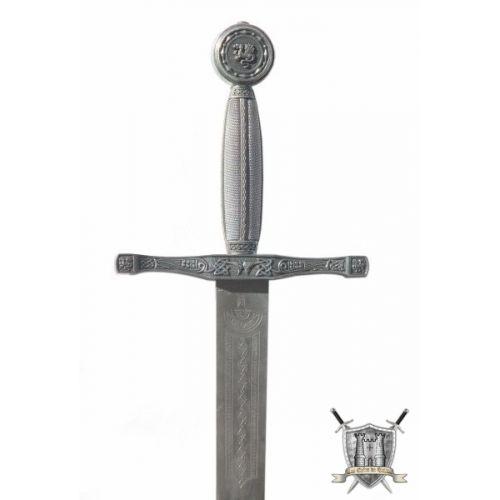 Excalibur acier trempé rustique 118 cm