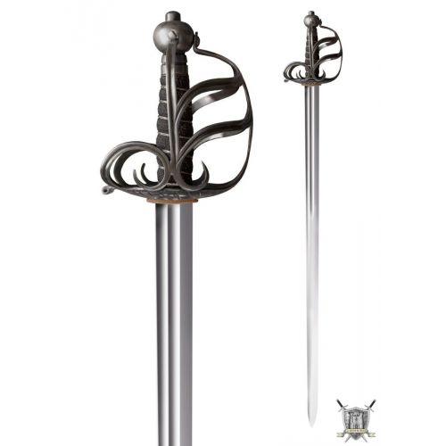 Epée anglaise médiévale de combat