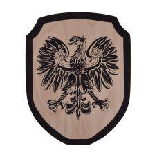 Bouclier aigle noir enfant