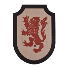 Bouclier médiévale au lion pour enfant