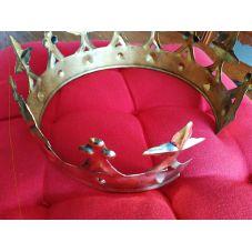 couronne royale laiton