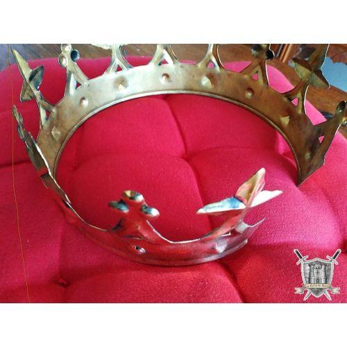 couronne de reine serre tête en laiton
