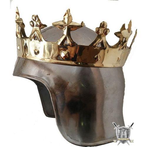 couronne royale en laiton