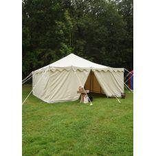 Tente  en coton naturel hydrofuge 5x5 mètres