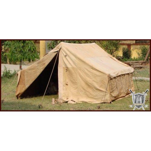 Tente Romaine cuir authentique peau 3x3