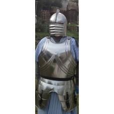 Armure médiévale partielle