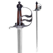 Epée anglaise 17ème siècle de combat