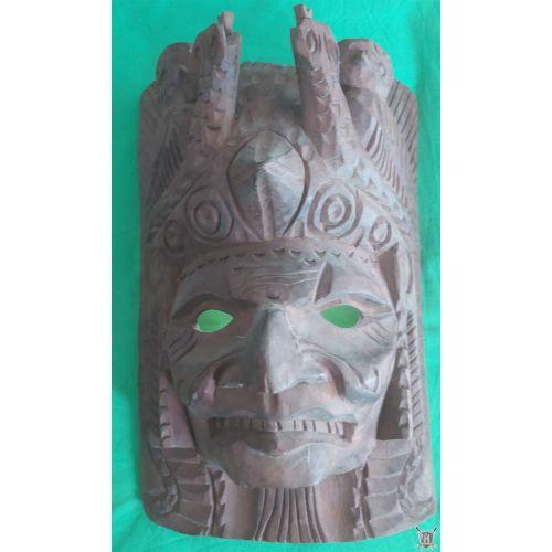 masque authentique d'indien d'amérique