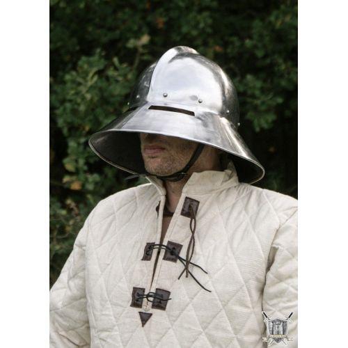 Kattle Hat avec fente pour les yeux bon pour le combat