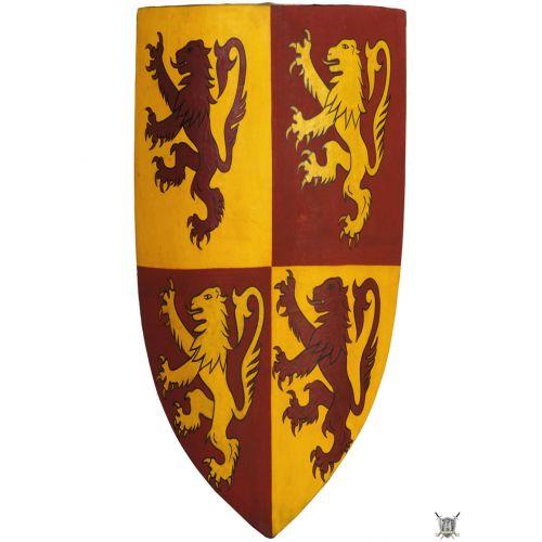 Bouclier médiéval sur mesure