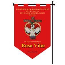 Etendard Rosa Vitae