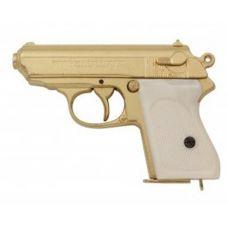 Pistolet Walther PPK GOLDFINGER