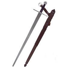 Epée templière de combat gravée MILTARIS TEMPLI