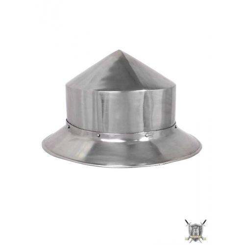 Kattle hat 13 ème siècle acier 1.6 mm