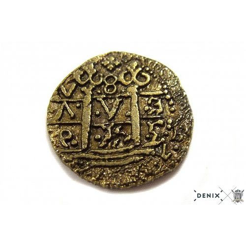 Doublon espagnol monnaie or