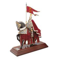 Roi Richaqrd Coeur de Lion à cheval