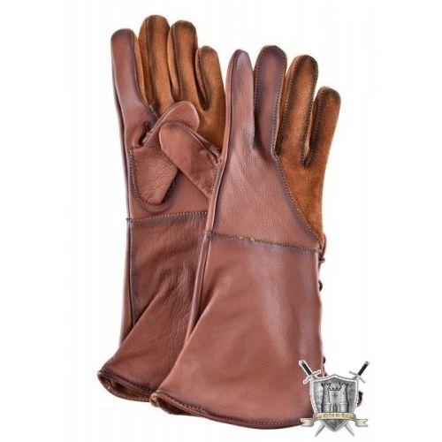 gants fauconnier cuir épai