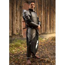 Armure médiévale en acier