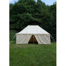 Tente médiévale 6x4m toile 425gms