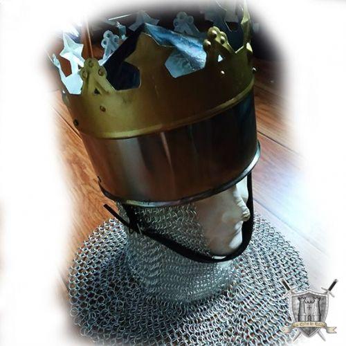 casque royal avec couronne