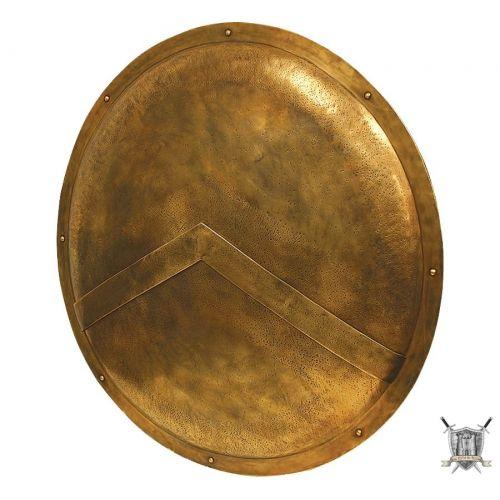Bouclier spartiate Leonidas en acier