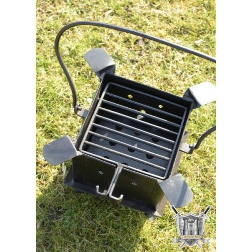 Barbecue poste de cuisson portable